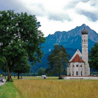 O biserica langa Schwangau