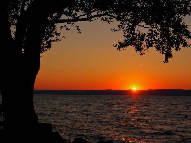 Seara pe lacul Balaton