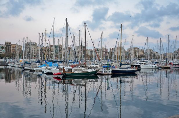 Portul din Barcelona